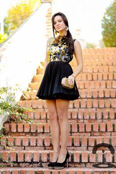 Crimenes de la Moda: Black & gold