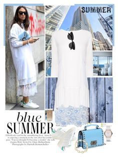 """""""Blue Summer"""" by feelgood35 ❤ liked on Polyvore"""
