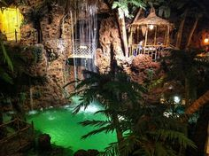 The waterfall inside of Casa Bonita | 20 Colorado Places That Will Literally Take Your Breath Away
