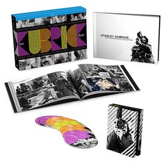 Stanley Kubrick: The Masterpiece Collection Blu-ray  Kubrick made nothing but classics and this exclusive Masterpiece Collection contains Blu-ray versions of Lolita, Dr. Strangelove, 2001: A Space Odyssey, A Clockwork Orange, Barry Lyndon, The Shining, Full Metal Jacket & Eyes Wide Shut plus 2 new documentaries about the director as well as a 78-page hardcover photo book. Available November 4.