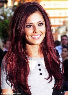Chocolate cherry hair color Thanks hair-inspiration o. Chocolate Cherry Hair Color, Cherry Hair Colors, Cherry Red Hair, Dark Red Hair, Bright Hair Colors, Plum Hair, Hair Colours, Violet Hair, Purple Hair
