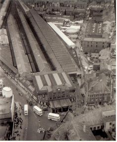 Blackpool Central Station in splendour. Old Pictures, Old Photos, Vintage Photos, Blackpool Uk, Disused Stations, Central Station, Southport, Local History, Car Parking