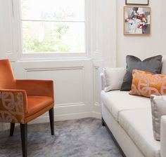 Boscolo - The St John's Wood Family Home - Study #statementchair #hermes