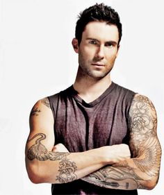 Adam Levine is so attractive. i can't believe i get to spend Valentines Day at his concert :P