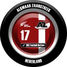 DNZ Football Buttons: AZ Alkmaar
