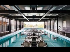 Mulroy Architects completes timber-clad rowing centre for Oxford school - YouTube