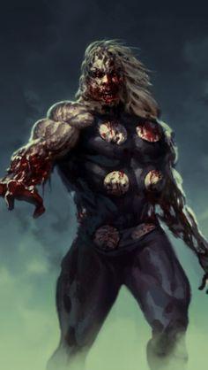 Zombie Thor.