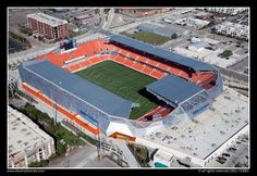 BBVA Compass Stadium / Home of Houston Dynamo of MLS / Houston, Texas, USA