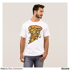 Pizza Camiseta tee tees t-shirt tshirt illustration