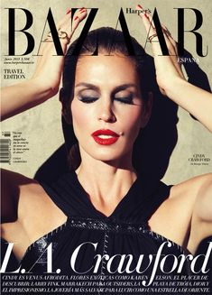 Cindy Crawford Stars in Harpers Bazaar Spain June 2013 Cover Shoot by Nagi Sakai - Fashion Gone Rogue: The Latest in Editorials and Campaigns
