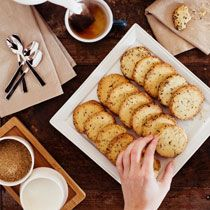 Tea Cookies with Rooibos Sugar, recipe from the Tasting Table Test Kitchen