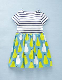 I won't spend the money on a toddler dress, but I love the combo enough to keep my eyes open for some fabric to make one!