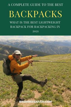 What is the best lightweight backpack for backpacking in 2021. Hiking gear guide for beginners and experienced hikers and backpackers. The gear review covers 13 of the best lightweight backpacks on the market this year. Best Ultralight Backpack, Ultralight Backpacking, Backpacking Food, Hiking Backpack, Best Hiking Gear, Thru Hiking, Hiking Tips, Lightweight Backpack, Cool Backpacks