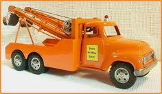 1956 Custom Tonka State Hi-Way Heavy Duty Wrecker