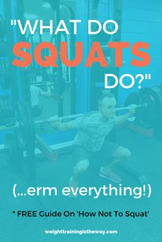 weight training advice and health and nutritional information Energy Fitness, You Fitness, Fitness Diet, Strength Training Workouts, Weight Training, Weight Lifting, Weight Loss, What Do Squats Do, Benefits Of Squats