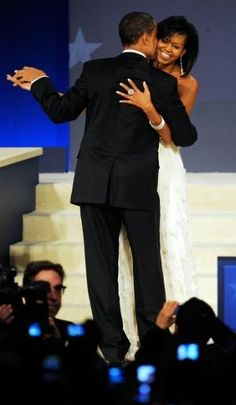 President Obama and First Lady Michelle Obama by DeeDeeBean