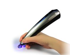 Creopop 3d pen with cool ink, no burning plastic smells, no burning hazards, no chords. Express yourself in 3d