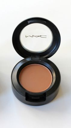 Mac Saddle. (Transition color, above the crease) This color makes my dark blue eyes pop like no other Iove it! Add shimmer beneath the brow and in the corner. My current favorite xo.