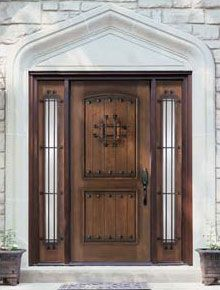 entry doors wood