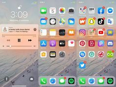 Iphone Home Screen Layout, Iphone App Layout, Iphone App Design, Iphone Hacks, Iphone 7, Organize Apps On Iphone, Telephone Iphone, App Background, Iphone Homescreen Wallpaper