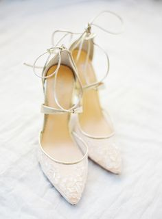 Sparkly Wedding Shoes, Wedding Shoes Bride, Ivory Wedding, Ankle Strap Heels, Ankle Straps, White Lace Shoes, White Dress, Beaded Shoes, Bridal Heels