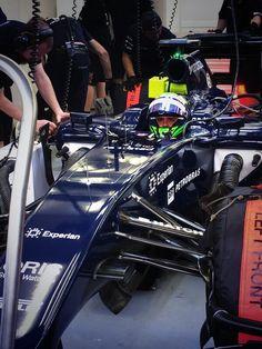 Felipe massa, williams, bahrain testing 2014