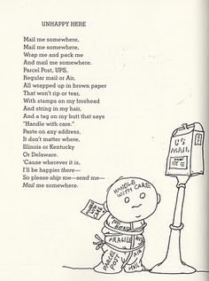 it's odd how children's poems can find a way to let the older of us relate