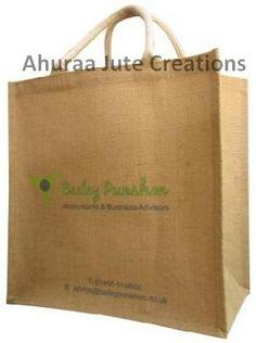 Medium long/portrait jute bag - Natural Size (cm) : W 32 X H 34 X G 20 Padded Cotton OR Cotton Tape - Bag color Jute Shopping Bags, Paper Shopping Bag, Jute Bags, Medium Long, Tape, Portrait, Natural, Cotton, Headshot Photography