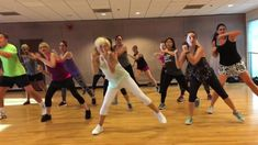 "Here is our first cardio kickboxing with a mix of dance to ""EYE OF THE TIGER""! Absolutely love this track (and this awesome remix) - something super . Dance Workout Videos, Zumba Videos, Dance Exercise, Dance Fitness, Yoga Fitness, Tiger Dance, Gym Workouts, Dance Workouts, Zumba Routines"