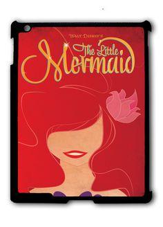 The Little Mermaid Novel Ipad Case, Available For Ipad 2, Ipad 3, Ipad 4 , Ipad Mini And Ipad Air
