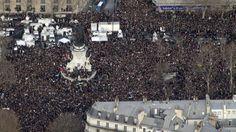 Avec au moins 3,7 millions de personnes mobilisées partout dans le pays, la France a connu sa plus grande mobilisation depuis la Libération.