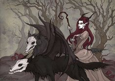 Spirits of Woods by IrenHorrors.deviantart.com on @DeviantArt