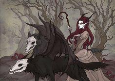Spirits of Woods by IrenHorrors.deviantart.com on @DeviantArt