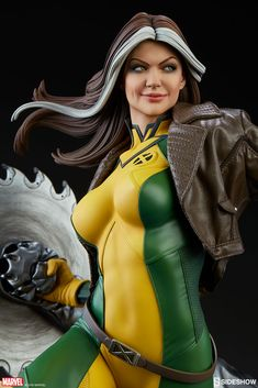 Sideshow X-Men Rogue Maquette Details Released! | Serpentor's Lair