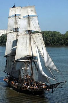 Toledo Ohio River Water Ship Sailing Vessel