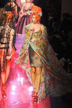 Jean-Paul Gaultier Haute Couture Spring 2012: A Tribute to Amy Winehouse