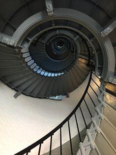 Inside Ponce Inlet Lighthouse