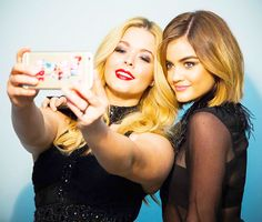 Lucy Hale News • Your best source for everything Lucy Hale  - BTS from 'Pretty Little Liars' Season 6b...