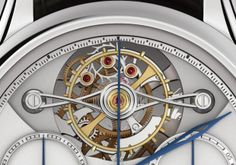 Montblanc Collection Villeret 1858 ExoTourbillon Detail