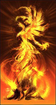 18 Phoenix Artworks : The Flaming Bird | Design Inspiration | PSD Collector