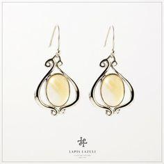 Nouveau Citrine Drop Earring Ear Earrings, Gemstone Earrings, Ears, Gemstones, Silver, Jewelry, Jewlery, Gems, Jewerly