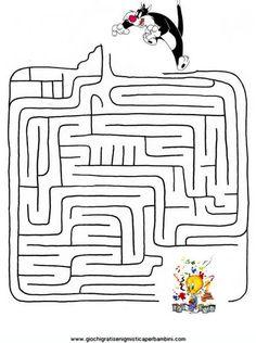 labirinti02 Enigmistica per bambini e ragazzi
