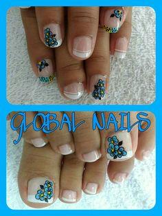 Cute Pedicures, Cute Nails, All Things Beauty, Nail Designs, Nail Art, Nails, Fairy, Polish Nails, Toe Nail Art