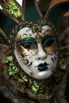 VALLETTA, MALTA - MAR 06 - Woman wearing Venetian mask during the International Carnival of Malta on 6th March 2011 Stock Photo - 9129564