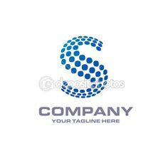 Vetores semelhantes a 113367538 S circle logo letter