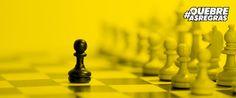 Me orgulho de ser corretor de imóveis, o peão do jogo de xadrez imobiliário.
