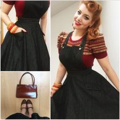 My Week In Outfits! - Miss Victory Violet Mode Rockabilly, Rockabilly Fashion, Rockabilly Outfits, Pretty Outfits, Cool Outfits, Fashion Outfits, Womens Fashion, Retro Mode, Mode Vintage