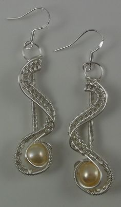 Rivers Edge Earrings   JewelryLessons.com