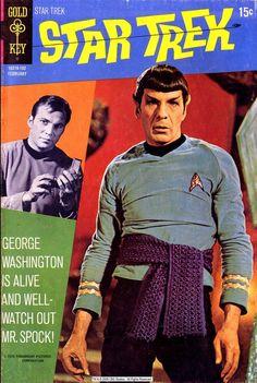 Star Trek No. 9, February 1971 #tv #series #startrek #cover