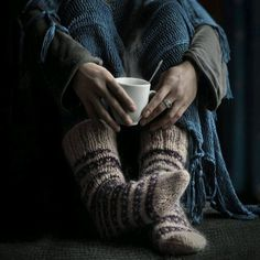 Knitted Socks cup of hot coffee Boho Life Style winter cosiness Ravenclaw, Chillout Zone, Vive Le Vent, Thing 1, Warm And Cozy, So Cosy, Relax, Leg Warmers, Fingerless Gloves